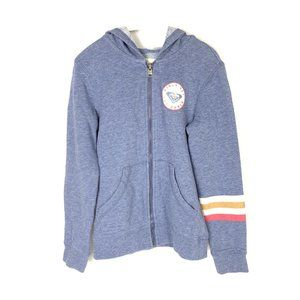 3/$30 Roxy Girls Zip Sweater Hoodie SM 8